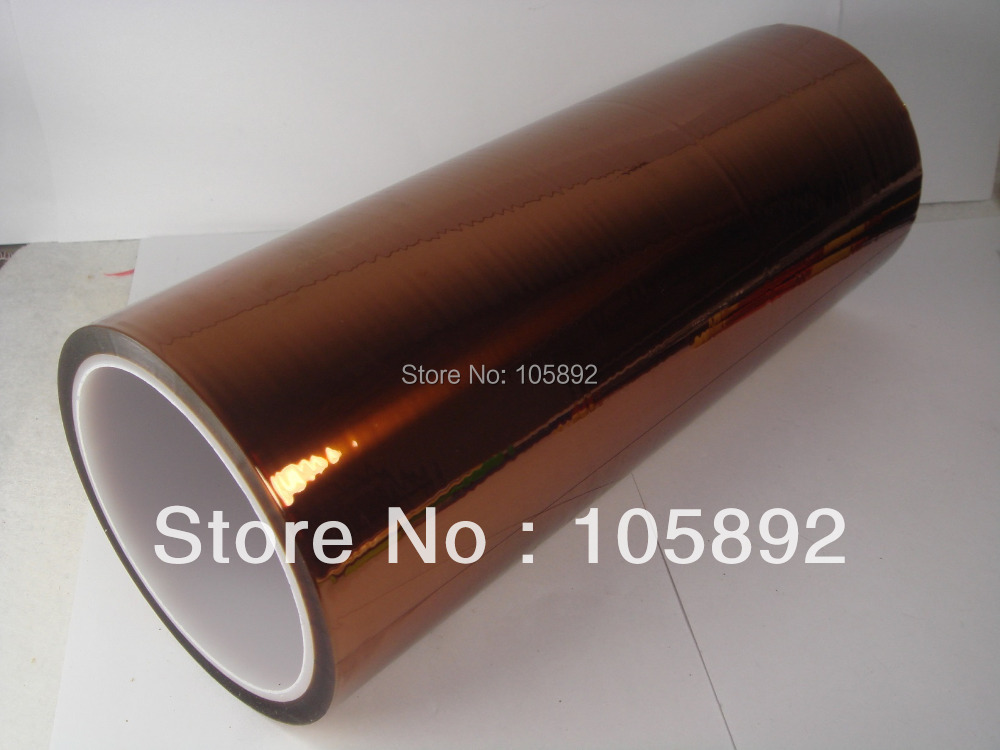 ФОТО Free Shipping 200MM*33M High Temperature Resistant Gold BGA Tape PCB tape Thermal Insulation Tapefor bga operation
