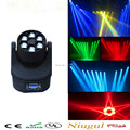 High brightness LED 6x15W Bee Eyes RGBW 4in1 Quad LED Moving Head Beam Light LED wash beam dmx stage effect lighting