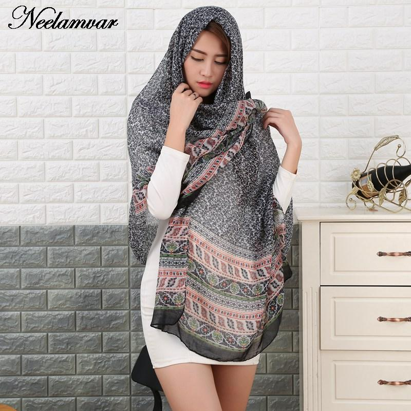 2017 new arrival Scarf Oversized voile Scarf Womens