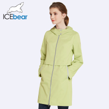 Woman Clothing Solid Color Long Sleeved Casual New Women Coat Stand Collar Pockets Trench Coat