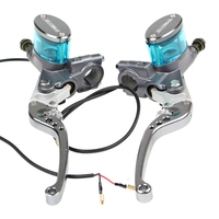 Universal 7/8 22mm Motorcycle Brake master cylinder Lever RPM 3 Colors Scooter Modified Hydraulic Brake master Pump handle