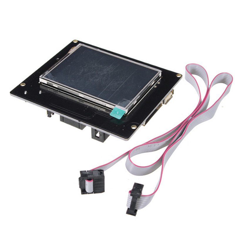 1pc TFT28 Touch Screen Supporting U Disk And SD Card Continued Printing When Power Off Power Off Save 3d printer 2 8 inch color touch screen support u disk mks tft28 v1 2