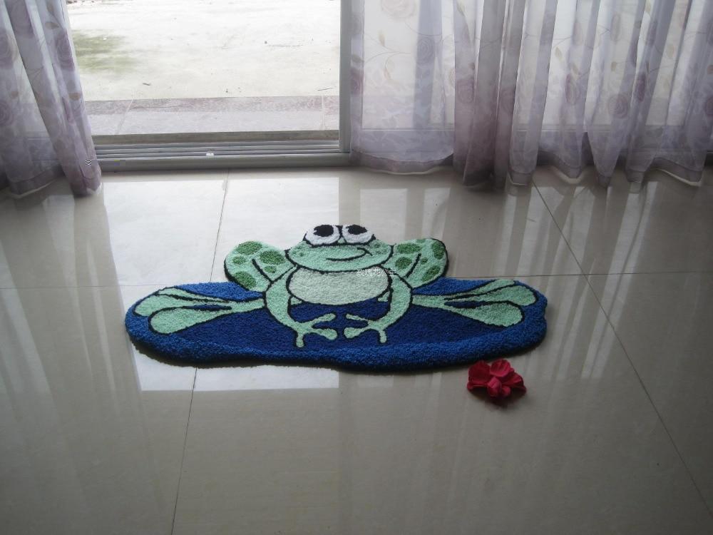 New Frog Anti Slip Mat For Kitchen Bedroom Floor Rugs Yoga Exercise Alfombra