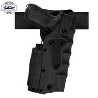High Quality Safariland Style Holster Tan Gun Leg Holster For GLOCK 17