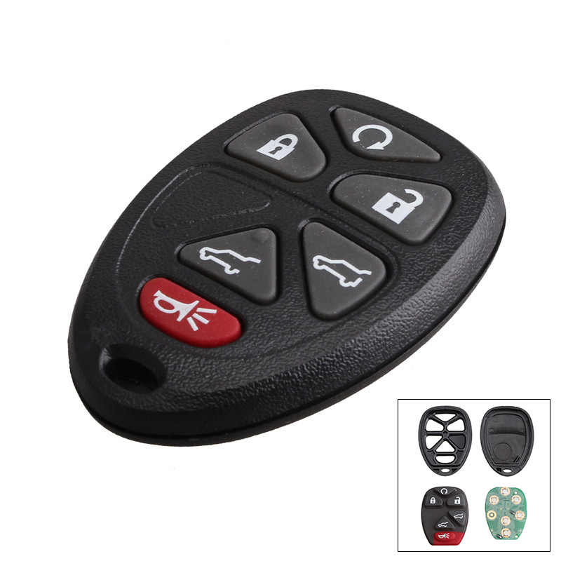 6 Buttons 315Mhz OUC60270 Entry Car Fob Control Remote Key For GMC Yukon Chevrolet Chevy Tahoe Suburban 15913427 Auto Parts