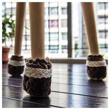 Горячие gczw-Мебель ножку стула колодки-для hardwoood пол Фетр Средства ухода за кожей стоп протектор Носки для девочек для деревянных полов нижней части обеденный пинетки Кепки