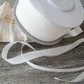 10 метров/рулон, 100% лента из чистого шелка для вышивки ручной работы, двухсторонняя тафта, натуральный белый 2-32 мм