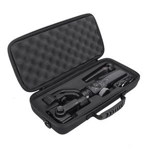 Image 1 - 2020  Newest PU Hard Box Travel Carrying Storage Case For Zhiyun Smooth 4 Handheld Gimbal Stabilizer Extra Room For Accessories