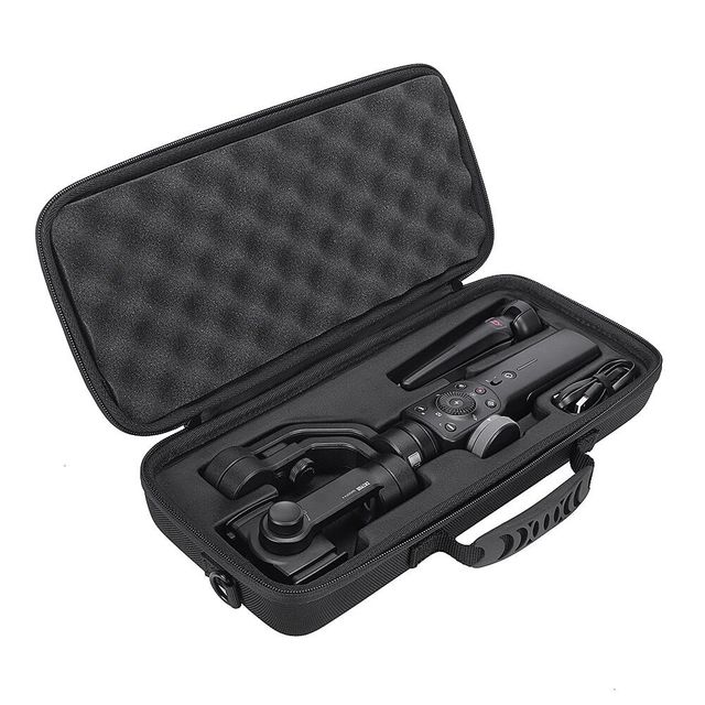 2020  Newest PU Hard Box Travel Carrying Storage Case For Zhiyun Smooth 4 Handheld Gimbal Stabilizer Extra Room For Accessories