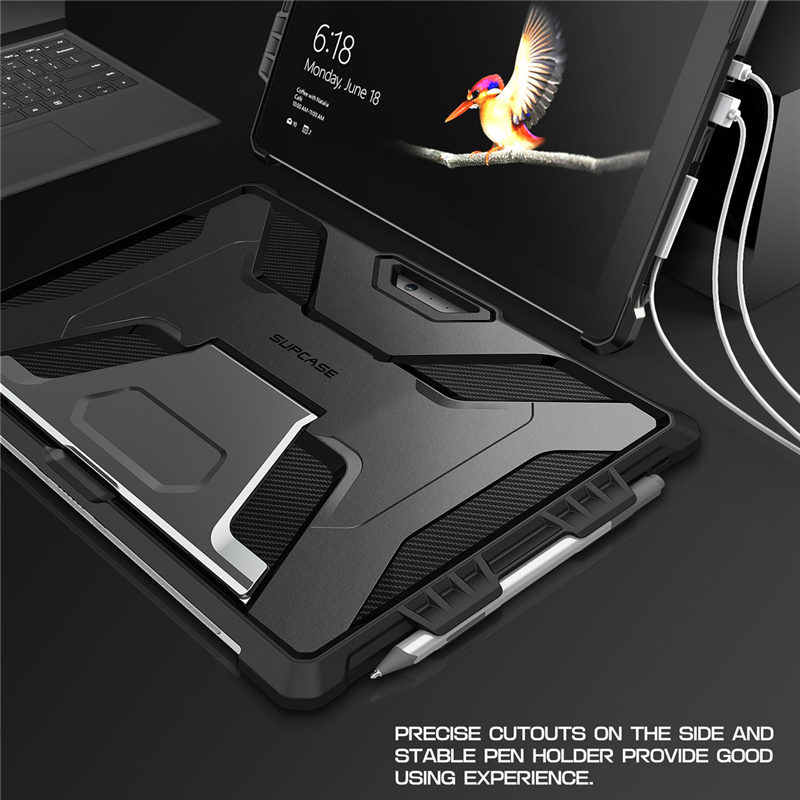 SUPCASE For Surface Pro 7 2019/Pro 6/Pro 5/Pro 4/Pro LTE Case UB PRO Full-Body Kickstand Rugged Cover,Compatible With Keyboard