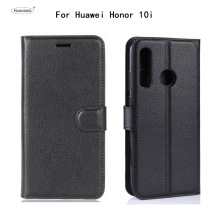 HUDOSSEN For Huawei Honor 10i HRY-LX1T Case Flip PU Leather Back Cover Phone Accessories Bag Skin Capa