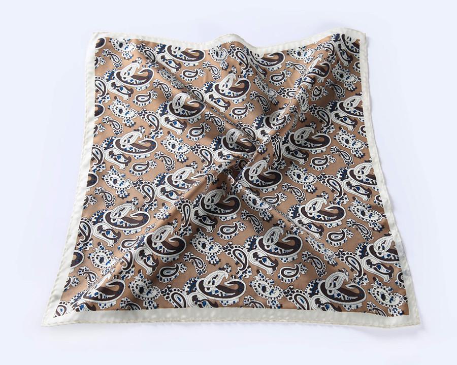 New-N307 HN30Z2) Brown Khaki Paisley 41cm (5)