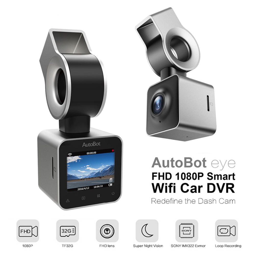 AutoBot Mini Car Camera Wifi Car DVR Dashcam Video Recorder Novatek 96658 IMX323 1 5 LCD