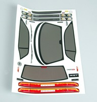 1 10 RC Model Repuestos Autos BODY SHELL Transparent 190mm PC201205 For Dodge Viper SRT8 Car