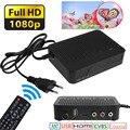 K3 DVB-T2 Digital HD 1080 p Caixa H.264 MPEG4 Receptor Terrestre Sintonizador de TV Vídeo Plugue DA UE