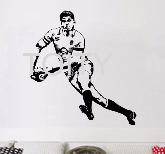 Owen Farrel Rugby Wall Sticker English Rugby Union Player