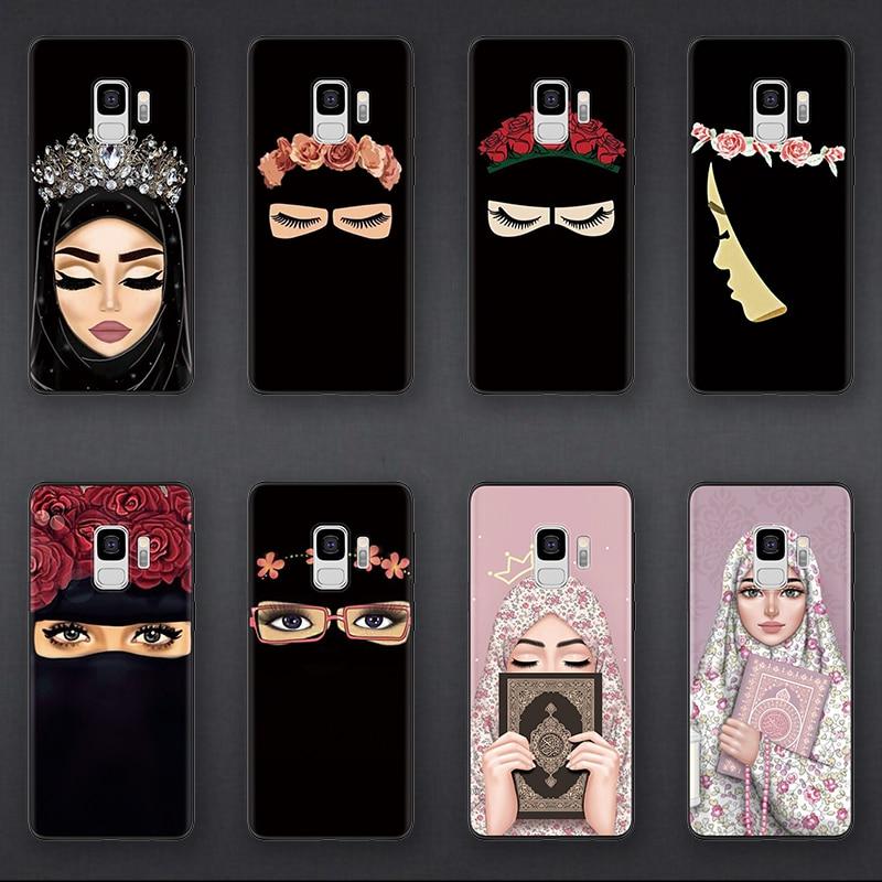 Islamic Hijab Gril Case For Samsung Galaxy J5 J7 J2 Prime J6 J4  Plus 2018 2016 2017 Case For Samsung Note 9 8 4 M30 M20 M10 CaseFitted  Cases