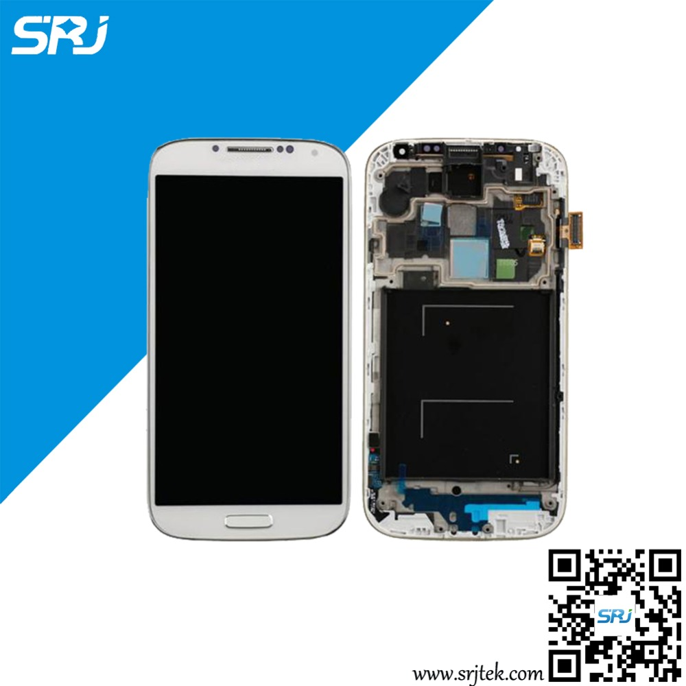 5 Black For Samsung Galaxy S4 I9505 LCD Display+Touch Screen Digitizer Glass Sensor Full Assembly with Frame Parts