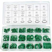 270 Uds 18 tamaños de aire acondicionado anillos O para coches herramientas de reparación de automóviles juegos de anillo de refrigerante de aire acondicionado de goma