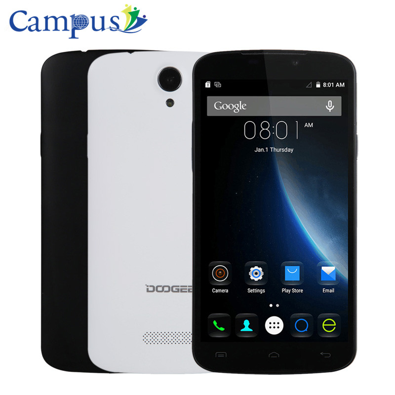 CAMPUS Doogee X6 Smartphone Android 5 1 MTK6580 8 0MP 1G RAM 8G ROM Mobile phone