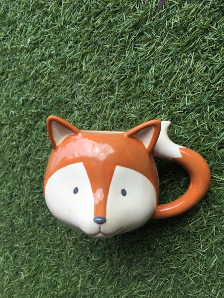 350ml Cute 3D Fox Ceramic Cup Creative Coffee Milk Porcelain Mug Childrens Gift Limited Collection Free shipping