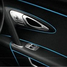 5 m Auto Grille Innen Außen Profile Trim Dekorative Band Linie für Infiniti FX-serie Q-serie QX -serie Coupe EX37 EX25 JX35