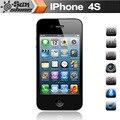 "Original desbloqueado apple iphone 4s usado telefone 3.5 ""ips 512 mb ram 16/32 gb 8 mp telefone móvel iphone4s multi-telefones celulares língua"