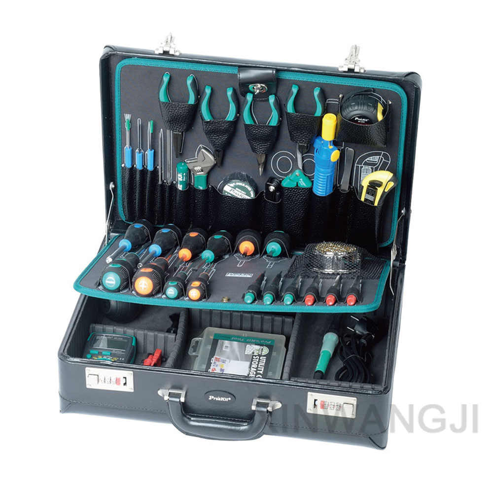 Pro'skit PK-15305B Professional Household Commonly Used Maintenance Tools Group Kit (42 In 1) Electronic Electrician Repair Set