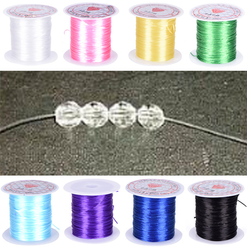 40m Iron Craft Wire 0.5mm Spool Soft DIY String Jewelry Craft Metal Cables ME