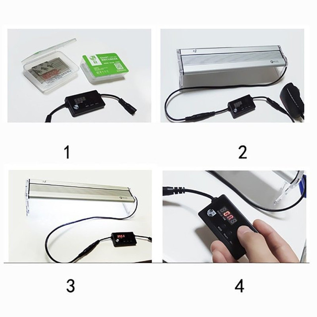Aquarium LED Light Variable Dimmer Controller Sunrise Sunset Compatible Chihiros  Series 36V 100w LED Light
