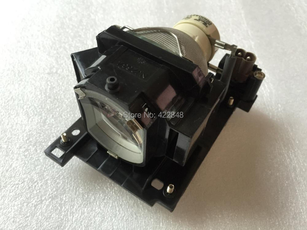 DT01021 Projector Lamp With Housing for Hitachi CP-X2010/X2510/X3010 HCP-3050X Projector projector lamp with housing dt00911 for hitachi cp x450 cp xw410 ed x31 ed x33 hcp 6680x hcp 900x