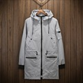 Burrima Autumn Mens Waterproof Long Jackets M-3XL Bomber Windbreaker Military Jaqueta Masculina Chaqueta Hombre Veste Homme