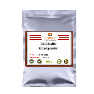 100-1000g Pure Black Truffle extract powder,Perigord truffle,Tuber sinensis,Tuber indicum powder for Improve sleep,Anti-fatigue