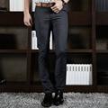 2016 модный бренд мужская повседневная брюки size29-40 бизнес брюки мужчины преступление последние дышащий хлопок мужские брюки в лето
