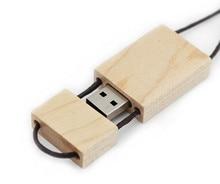 100pcs/lot wooden USB 2.0 usb flash drives 4GB 8GB 16GB 32GB 64GB thumb drive pendrive u disk usb memory stick