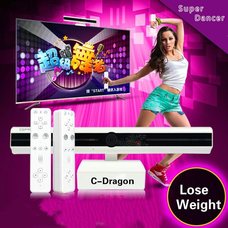 Cdragon Cassidy G80 Casa TV HD juego consola motion el cuerpo de la máquina doble familia Padre hijo de video inalámbrico envío gratis