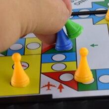 """Складная Летающая Шахматная игрушка игра развивающие игрушки магнитная поглощающая игра """"авиашахматы"""" игры Магнитная битва Лудо#0913"""
