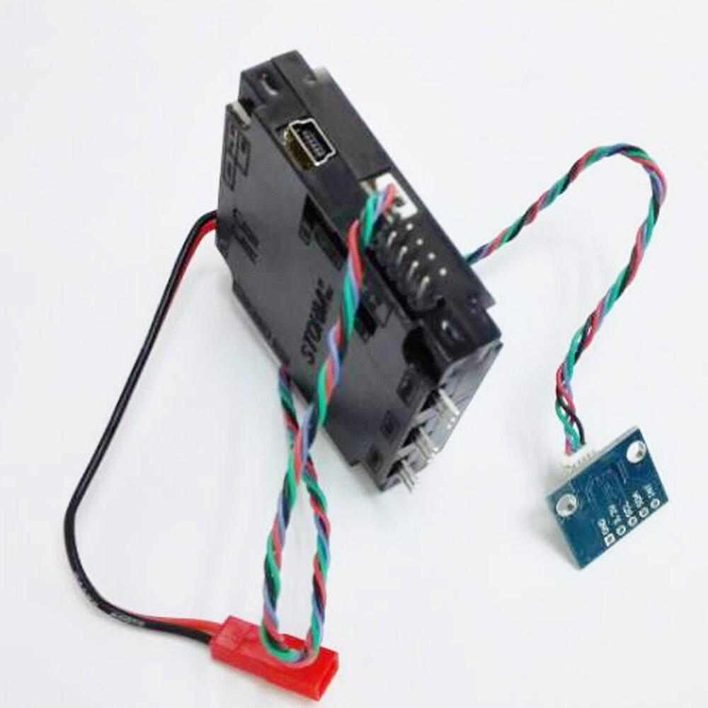 Registro de envío 1 Unidades Storm32 BGC 32Bit 3 ejes sin escobillas controlador cardán V1.32 DRV8313 motor gota al por mayor