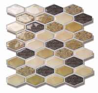 10 PCS 3D Ziegel Wand Aufkleber Selbst-Adhesive Panel Aufkleber Epoxy Tapete, schälen und Stick Wand Panels für TV Wände, Wohnzimmer