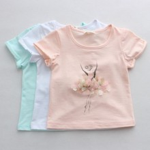 Free shipping,2 Colors,2015 New Summer,Girls shirt,Children shirt,Children/kids clothes,Tops,tees,Wholesale,0905