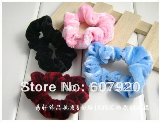 Free shipping(china post air parcel),Hair circle/Woolen Cloth Hair Bands/the most popular style