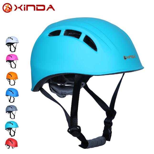 Xinda outdoor rock climbing downhill helmet speleology mountain rescue equipment to expand helmet helmet wading safety helmet xinda professional handle pulley roller gear outdoor rock climbing tyrolean traverse crossing weight carriage device