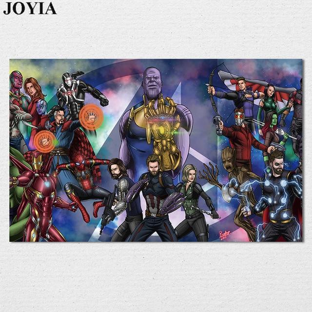 avengers infinity war poster 2018 movie superheroes characters