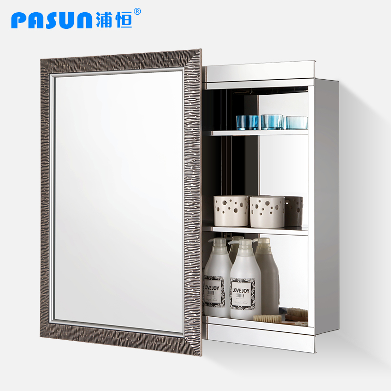 Stainless Steel Bathroom Cabinet Sideshows Sliding Door Sliding Mirror Cabinet Mirror Cabinet