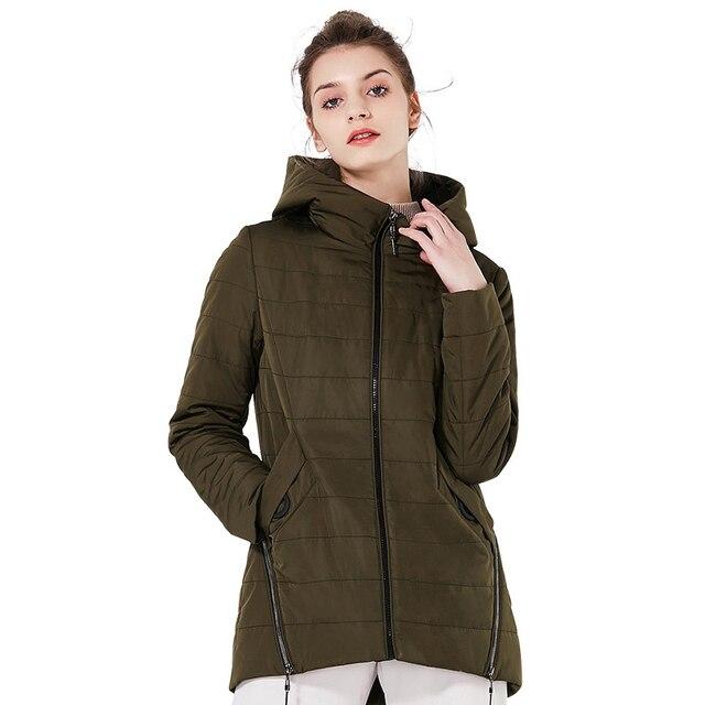 Женская куртка ICEbear GWC18135D