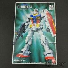 Bandai FG 01 1/144 RX 78 2, Gundam, EFSF, conjunto de traje móvil, Kits de modelo Gundam
