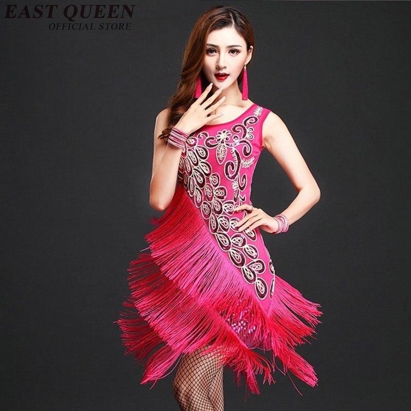 Online Get Cheap Salón De Baile Latino De Baile Vestidos ...