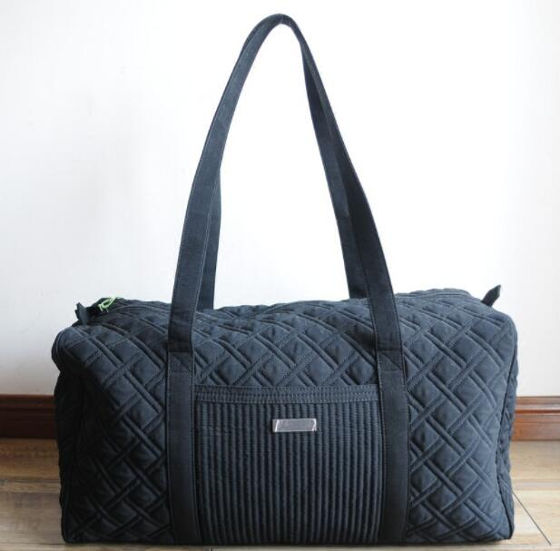 Solid Color Large Duffel Bag Travel Bags
