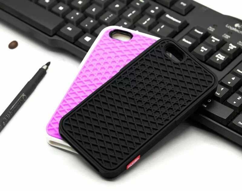 VANS wafel Case dla Apple iPhone X 10 8 7 6 6S 5 5S 7 plus SE pokrywa miękka guma silikonowa wafel buta podeszwa telefon komórkowy Funda