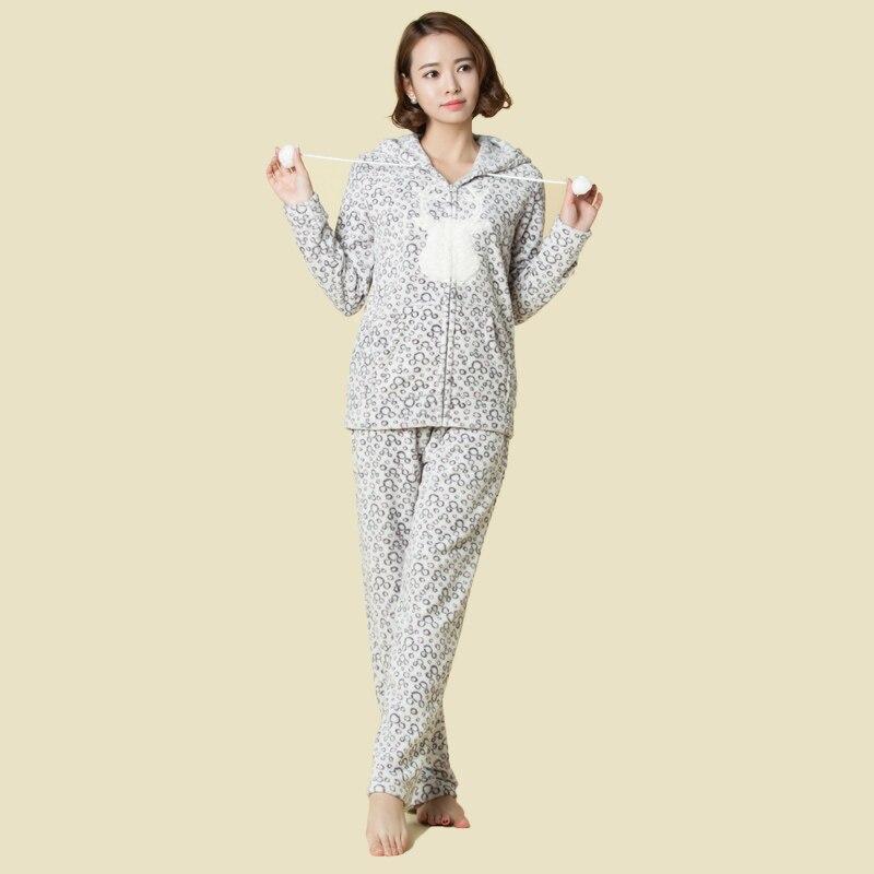 2016 dámské dívčí ležérní tepláky Coral Fleece mikina s - Dámské oblečení